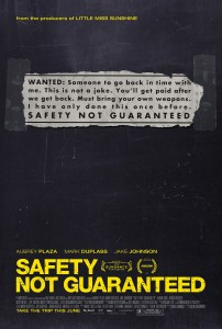SNG Approved Poster 202x300 - Safety Not Guaranteed