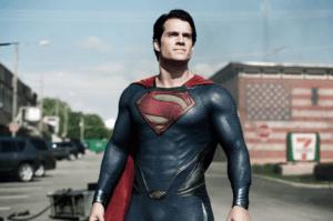 Cavill as Superman1 300x199 - Man of Steel