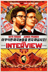 The Interview poster - Mainstream Chick's Christmas Day cheat sheet