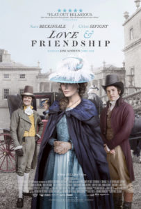 love and friendship movie poster 203x300 - Love and Friendship