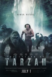 tarzan ver5 202x300 - Mainstream Chick's Quick Takes: The Legend of Tarzan; The BFG; Hunt for the Wilderpeople