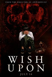 Wish Upon movie poster - Quickie Reviews: Wish Upon; A Ghost Story; City of Ghosts; The B-Side: Elsa Dorfman's Portrait Photography