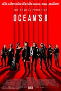 oceans 8 movie poster 202x300 - Review: Ocean's 8