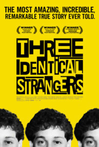 Three Identical poster 203x300 - Quickie (documentary) Reviews: Three Identical Strangers; The King