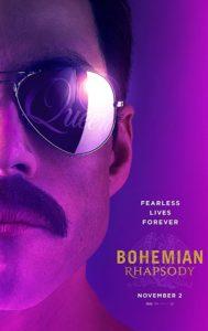 Bohemian Rhapsody poster 189x300 - Review: Bohemian Rhapsody