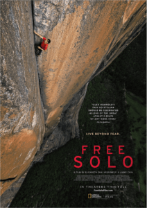 Free Solo poster 212x300 - Quickie Review: Free Solo (Documentary)