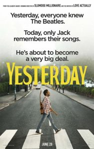 Yesterday poster 189x300 - Review: Yesterday