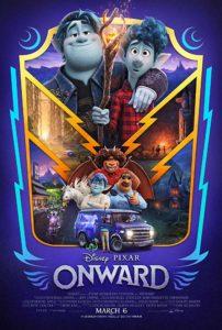 Onward poster 202x300 - Review: Onward