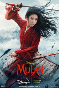 Mulan poster smaller 202x300 - Review: Mulan (2020)