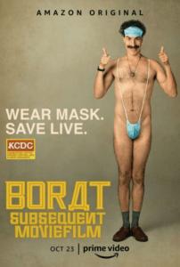 Borat 2 poster 202x300 - Review: Borat Subsequent MovieFilm