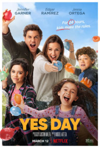 Yes Day poster 203x300 - Quickie Review: YES DAY