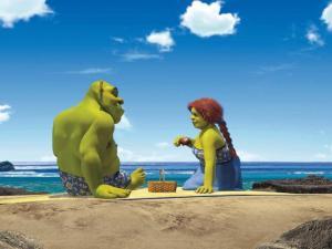 Shrek&FionaBeach