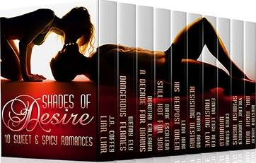 "Book Feature: ""Shades of Desire: 10 Sweet and Spicy Romances"""
