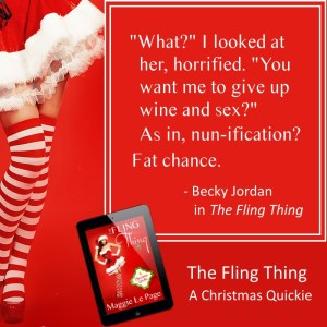 The Fling Thing new release social media image