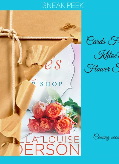 "COVER REVEAL: ""Cards From Khloe's Flower Shop"""