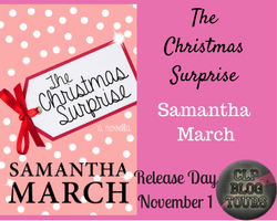 "RELEASE DAY BLITZ: ""The Christmas Surprise"" by Samantha March"