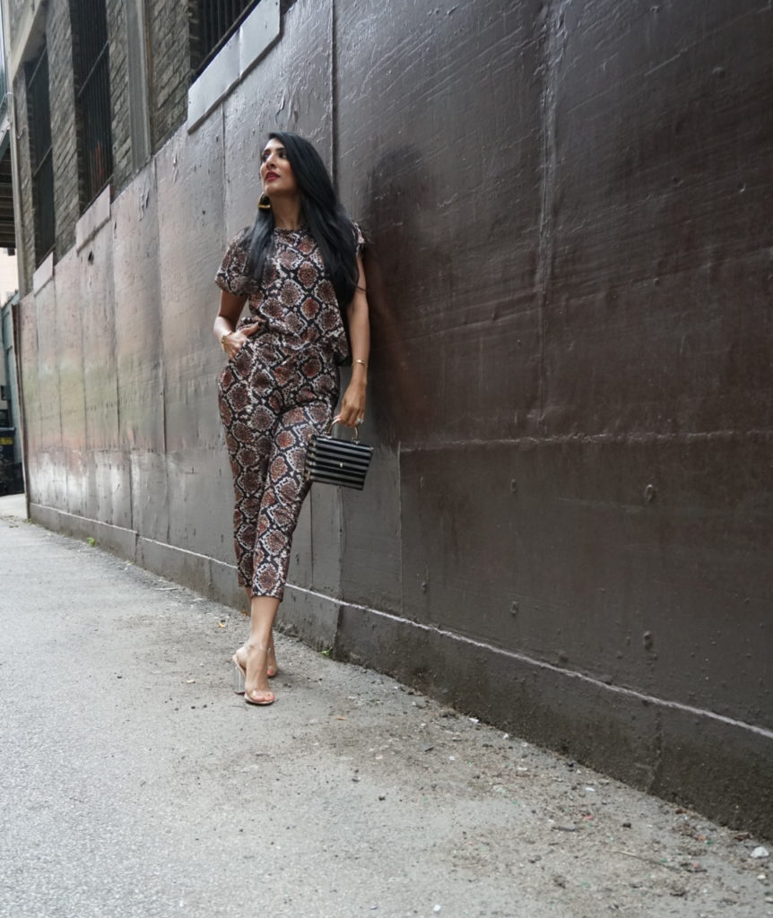 Femme Luxe Snake Print