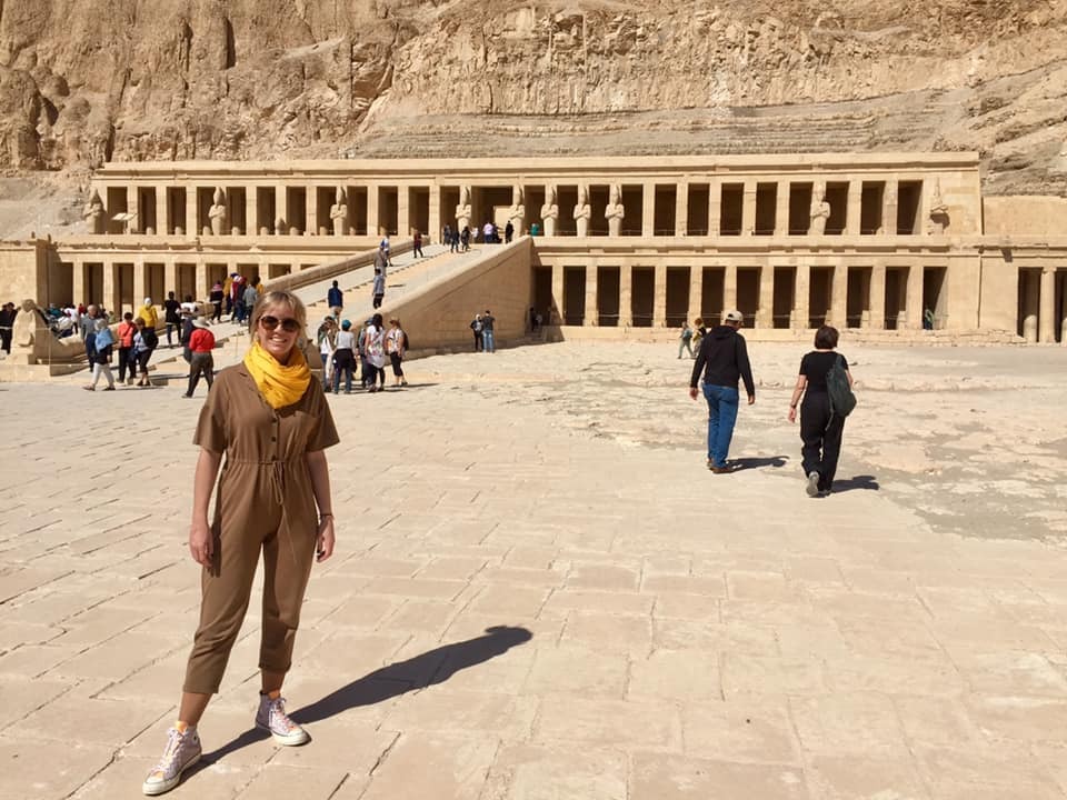 TEMPLO FUNERARIO EGIPTO