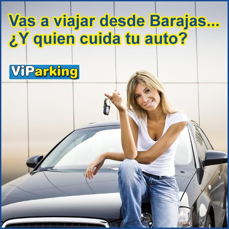 Viajas desde Madrid…. VIPARKING