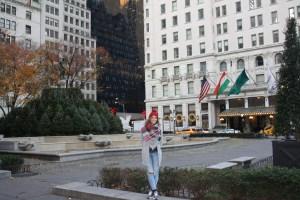 Piojitu en Hotel Plaza NY