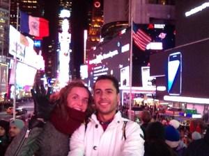 Piojos en Time Square Nueva York