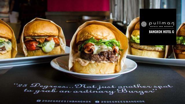 25 Degrees – La mejor Burger de Bangkok