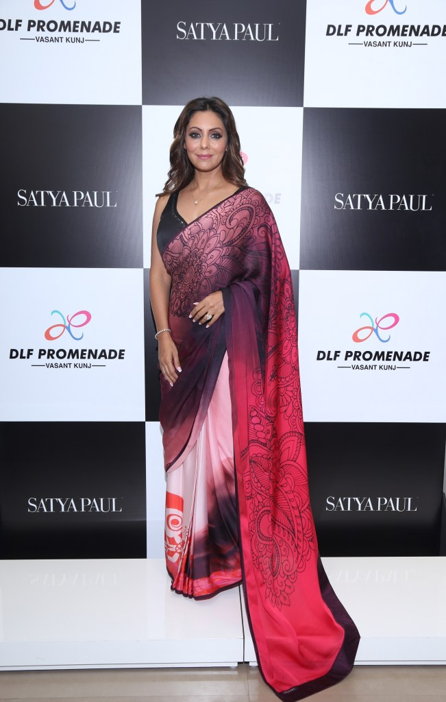 Gauri Khan At The Satya Pual Store For The Showcasing Of Her Latest Collection For The Brand (3)