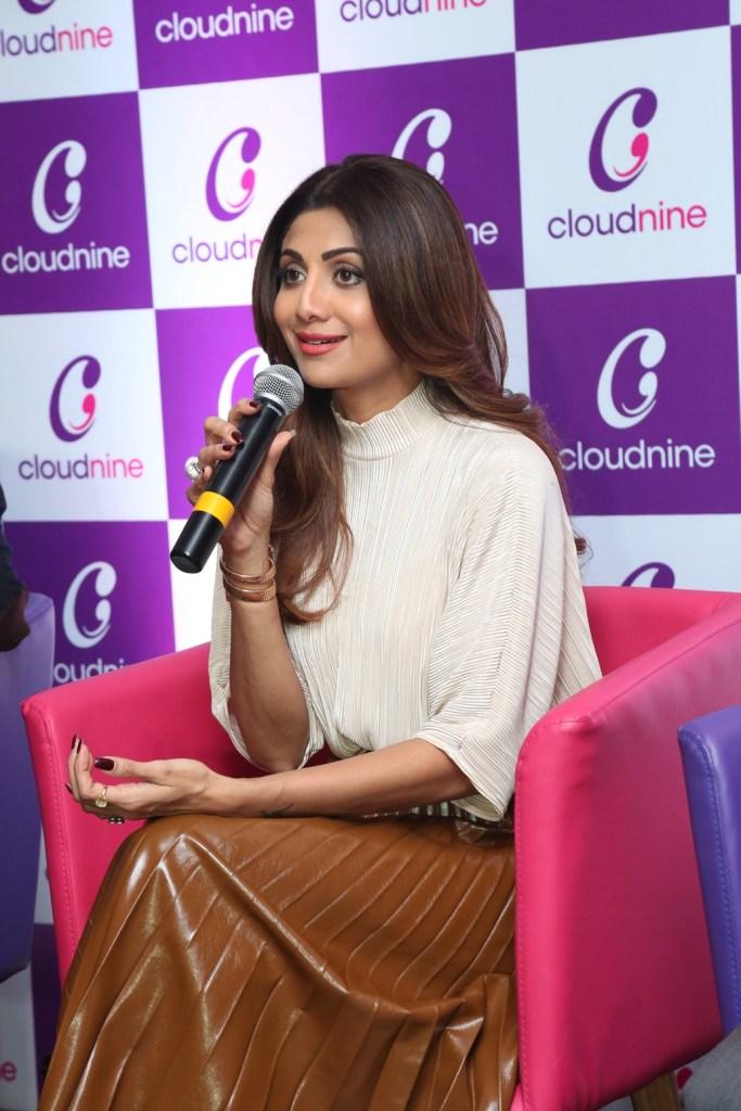 Shilpa Shetty at the inauguration of Cloudnine Hospital Vashi
