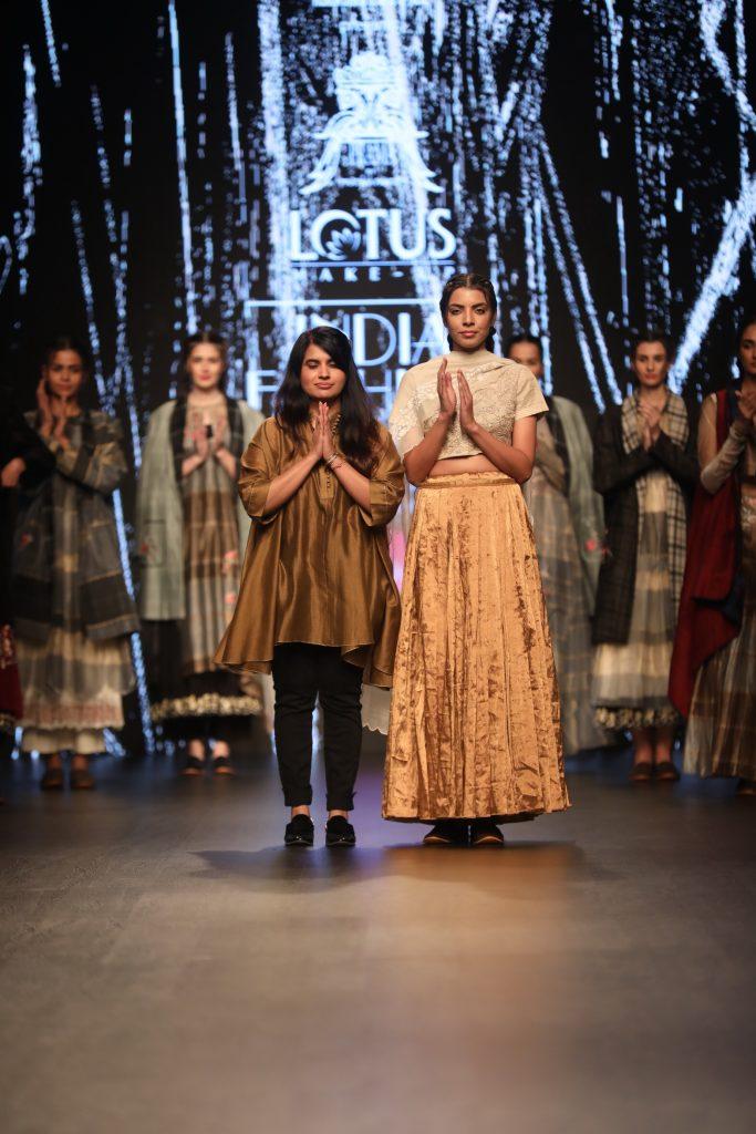 Designer Pratima Pandey at FDCI LMIFW AW 19 (8)