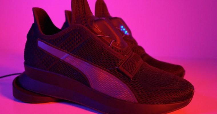 Las Puma Fit Intelligence, las zapatillas que se atan solas