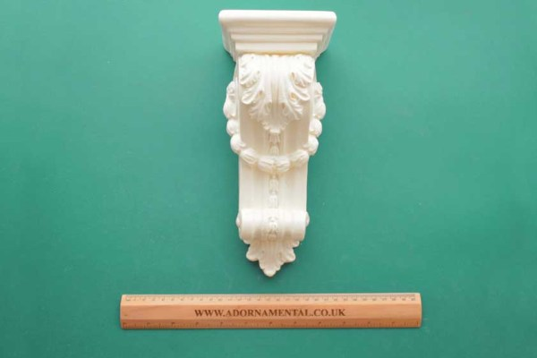 Extra Large Decorative Garland Corbel Resin Moulding