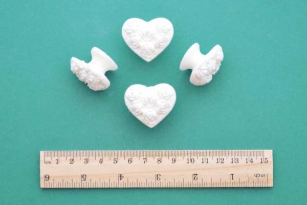 Heart Knob Pull Set