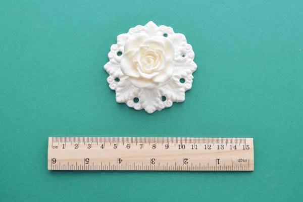 Circular Rose Back-Plate Moulding