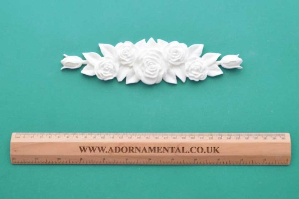 Victorian Rose Bouquet Moulding