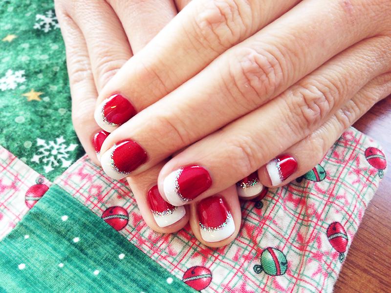 Christmas Nail Art With Gel Polish