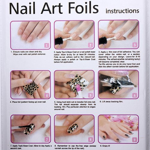 Homemade Nail Art Decals Nail Art Ideas - How to make nail decals at home