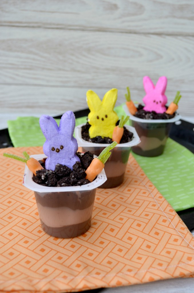 Easy Peeps Pudding Cups