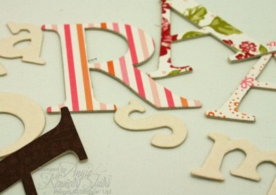 Coaster Letters