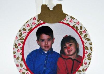Photo Coaster Ornament