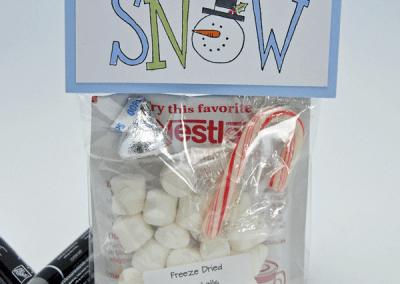 Big on Christmas Snowman Soup