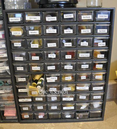 Reinker storage