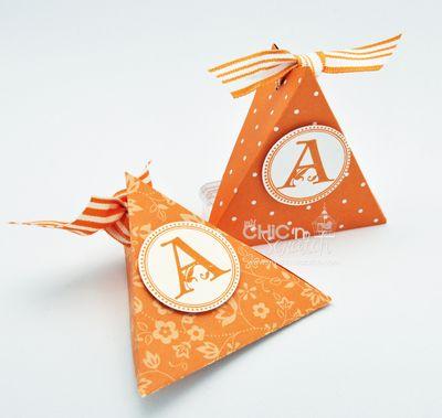 Pumpkin Triangle Box