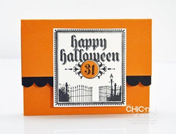 Lunch Sack Halloween Treat Holder
