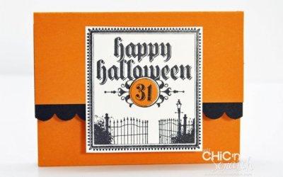 Lunch Sack Halloween Treat Holder