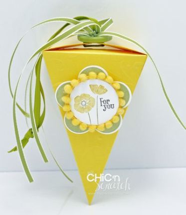 Punch Bunch Petal Cone Box