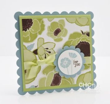 Scallop Square Card