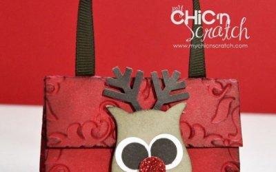 12 Days of Christmas #4 Reindeer Nugget Holder