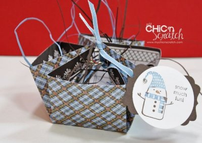 12 Days of Christmas #5 Snow Much Fun Basket