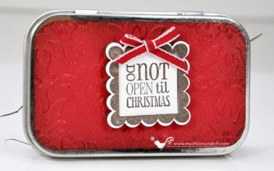 Stampin Up 12 Days of Christmas #1 2012