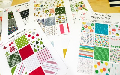 Designer Series Paper Charts and Special